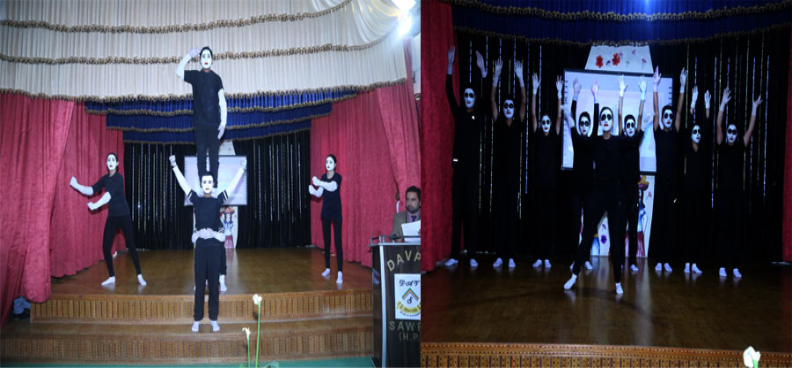 Inter house Mime Show